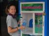Economie de plastique et d'efforts pour filtrer l'eau ; )
